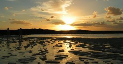Infobild Sonnenuntergang El Cotillo