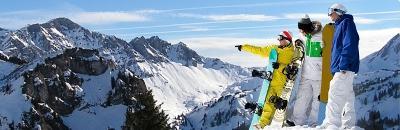 Infobild Skireisen
